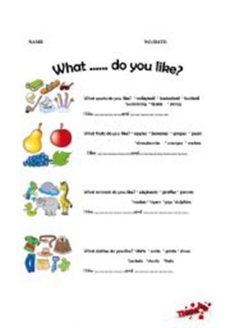 What do you like to do essay